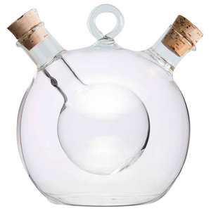 Bubble Oil and Vinegar Bottle