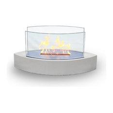 Lexington Tabletop Bio-ethanol Fireplace, White