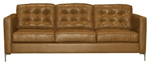 Uno - Mid Century Leather Sofas and Couches Collection - The Sofa Company -  Sofas