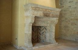 Antique Stone Fireplaces