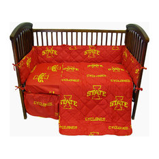 Iowa State Cyclones Baby Crib Fitted Sheet Pair, Solid, 2 Fitted Sheets