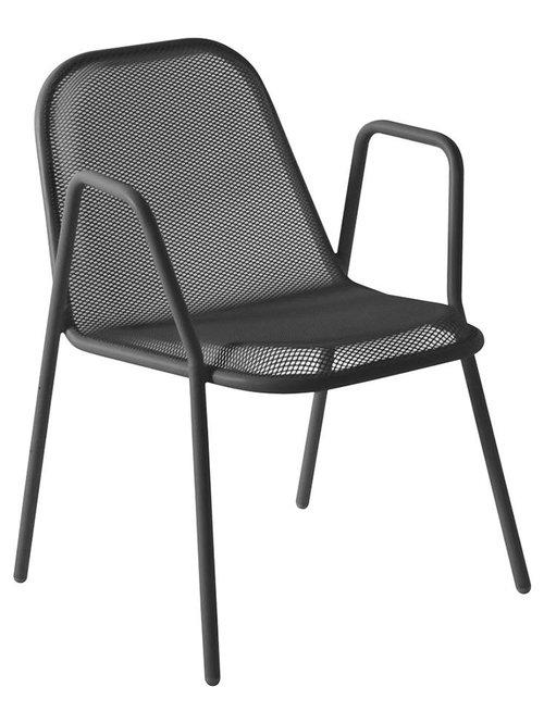Golf Stol Med Armstöd, Järn - Udendørs spisebordsstole
