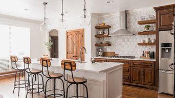 Edmond Kitchen and Living Room Transformation by Ten Key