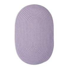 Colonial Mills, Inc - Colonial Mills Boca Raton BR23 Amethyst 9' x 12' Oval - Outdoor Rugs