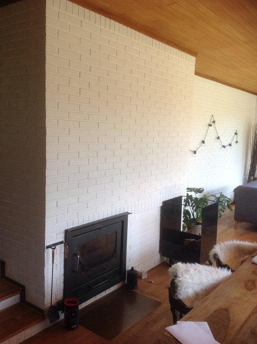 Fantastisk Udsmykning af væg ved brændeovn ML67