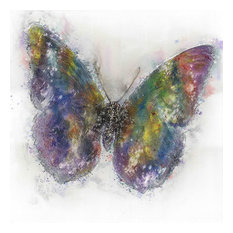"""Canvas Butterfly Oil Painting, 32""""x32"""""""