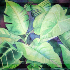 Custom Printed Rugs - Leaves Doormat - Doormats