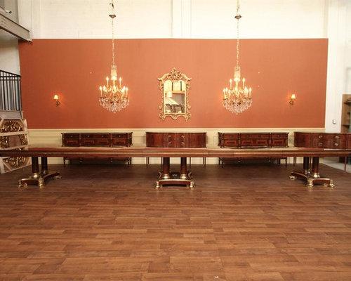 Extra Large King Demure Mahogany Dining Room Table (AP KD 10 22)