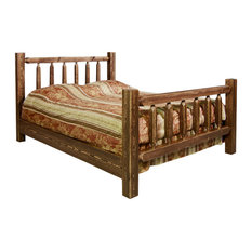Homestead Collection Twin Bed, Stain and Clear Lacquer Finish