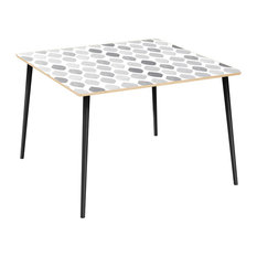 Mason Flare Dining Table - Nordic Clouds