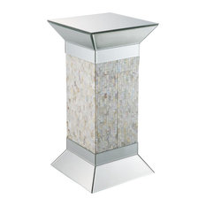 ACME Huey Pedestal Stand, Mirrored