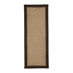 "Natural Area Rugs Edmond, Stair Treads Carpet Set of 13 (9""x29"") Fudge"