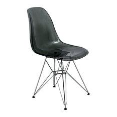 Leisuremod Cresco Molded Eiffel Side Chair
