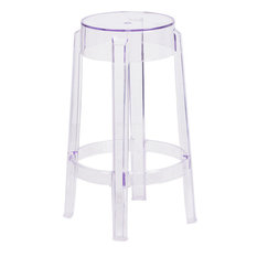 50 Most Popular Clear Acrylic Bar Stools For 2019 Houzz