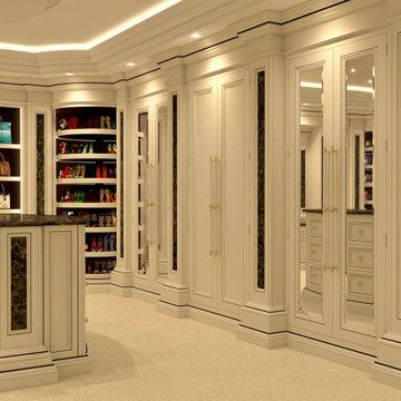 Genius Collection - Luxury Dressing Room