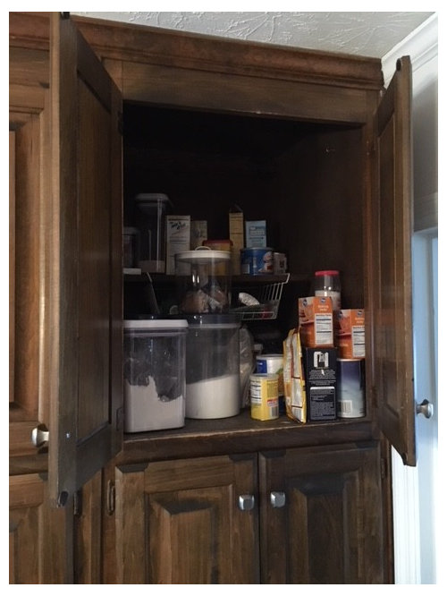 How To Retrofit Deep Pantry Cabinets To Make Them More