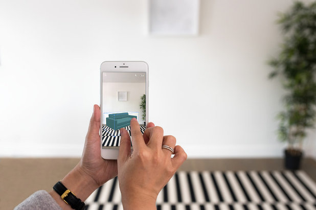 Houzz app adds 3d preview to help you shop