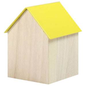 Block Storage House, Yellow, Large