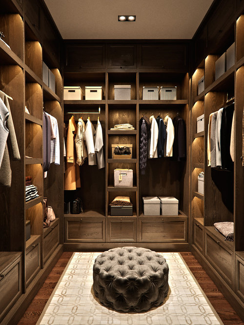 WalkIn Closet Ideas Design Photos Houzz