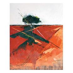 """Bracken Shadow"" Printed Canvas by Simon Howden, 50x40 cm"