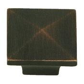 Stone Mill Hardware -Milan Oil Rubbed Bronze Cairo Cabinet Knob