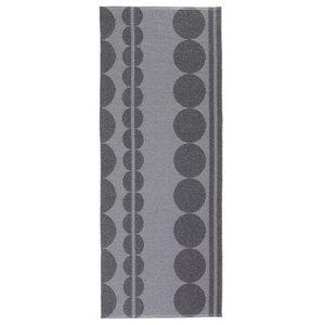 Viva Coal Woven Vinyl Rug, 200x280 Cm