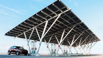 Pickering Casino Solar Carport