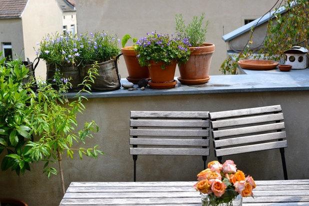 by Nelka - Bepflanzung Dachterrasse Balkon Innenhof