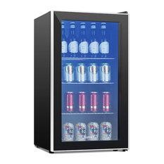 120-Can Beverage Cooler and Refrigerator, Mini Fridge, 3.1 Cu.Ft