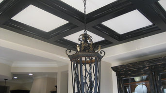 Colored Ceiling Crown Moulding