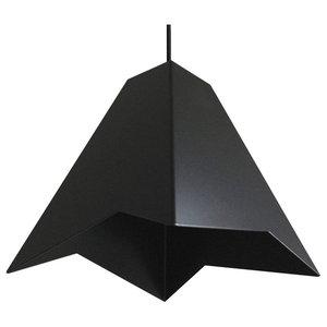 Cheese Department Hyozan Black Pendant Lamp, Black Cable