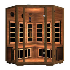 JNH Lifestyles Freedom 4 Person Corner Far-Infrared Sauna