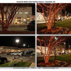 Car Dealerships Commercial Christmas Lights Charlotte NC