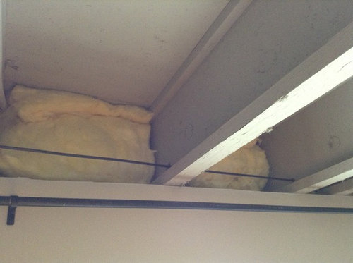 How To Cover Insulation In Basement, Basement Ceiling Insulation Cover
