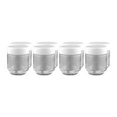Euro Cuisine Yogurt Jars for Euro Cuisine Yogurt Maker, 8 Piece