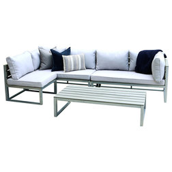 Fresh Contemporary Outdoor Lounge Sets by Walker Edison