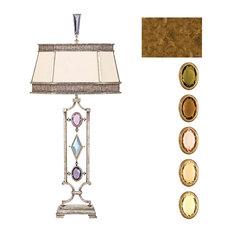 Fine Art Lamps Encased Multi-colored Gems Table Lamp