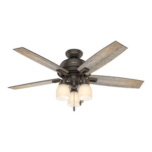 Hunter Fan Company Devon Park Onyx Bengal Ceiling With