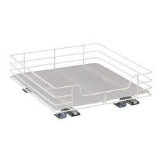 15 in. Single Basket Pantry Organizer