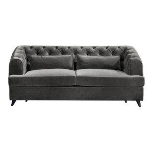 Earl Grey Sofa Bed, Zinc, 2-Seater, 113x186 cm