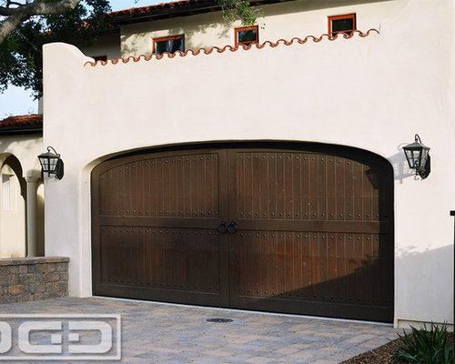 Three Eclectic Style Custom Garage Doors For A Santa Barbara Ca