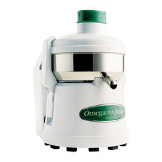 Omega J4000 Juicer With White Finish and Pulp Ejection 5,200 RPM