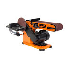 "4x36"" Belt and 6"" Disc Sander with Steel Base"
