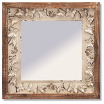 Melrose International - Butterfly Wall Mirror - Wall mirror with butterfly design frame.