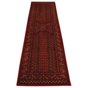 Wool Classic 635R Runner, Red, 68x235 cm