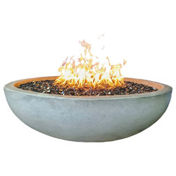 Industrial Fire Pits by Pottery Works LLC