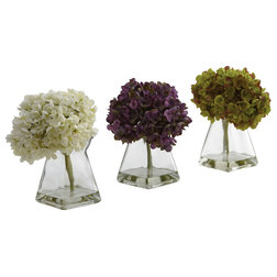 Traditional Artificial Flower Arrangements by Bathroom Marketplace