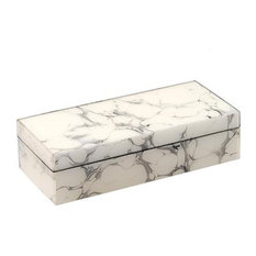 Cream Carrara Lacquer Small Box