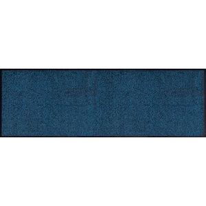 Easy Clean Navy Blue Doormat, Large