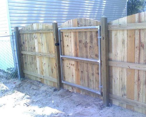 metal gate frame for wood - Metal Gate Frame